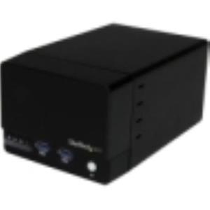 StarTech.com USB 3.0 Dual 3.5in SATA III Hard Drive RAID Enclosure S352BU33HR