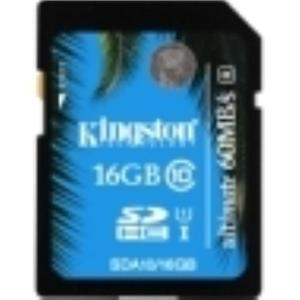 Kingston Ultimate 16 GB Secure Digital High Capacity SDA10/16GB