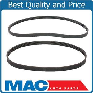 New Serpentine Drive Fan Belts Kit For 2003-2007 Forester All Engine Size