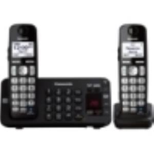 Panasonic KX-TGE242B DECT 6.0 1.90 GHz Cordless Phone 1 Phone Line 1 Handset