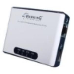 Hawking HMPS1U Fast Ethernet Print Server 1 x 10/100Base-TX 1 x 10Mbps 100Mbps