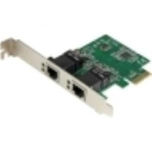 StarTech.com Dual Port Gigabit PCI Express Server Network Adapter ST1000SPEXD4