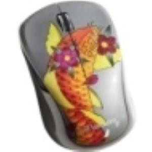 Verbatim Wireless Notebook Multi-Trac Blue LED Mouse Tattoo Series 98615