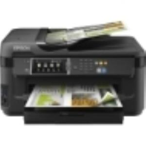 Epson WorkForce 7610 Inkjet Multifunction Printer Color Photo Print C11CC98201