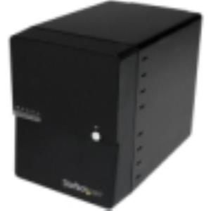 StarTech.com USB 3.0 eSATA 4-Bay 3.5in SATA III Hard Drive Enclosure S3540BU33E