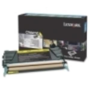 Lexmark C746 C748 Yellow Return Program Toner Cartridge C746A1YG
