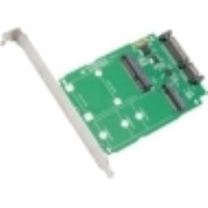 SYBA Multimedia M.2 NGFF & mSATA SSD to SATA III SI-ADA50067