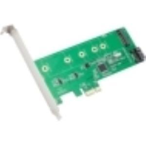 SYBA Multimedia NGFF/SSD To SATA/PCI-E Card SI-PEX50069
