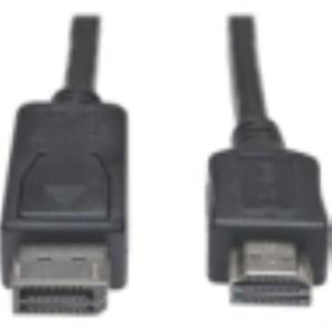 Tripp Lite 10ft DisplayPort to HD Cable Adapter HDCP 1080P P582-010