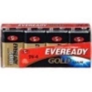 Energizer Eveready Alkaline Battery for General Purpose Alkaline 9V DC A522-4