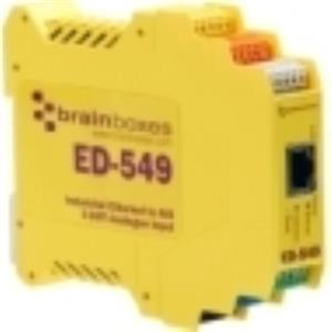 Brainboxes Ethernet to Analogue 8 Inputs 1 x Network ED-549 Device Server