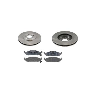 Quality Brand (2)  5361 Front Disc Brake Rotor With CD650 Ceramic Pads