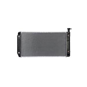 2485 Radiator Express Van WITH ENG. OIL COOLER Core Size 30 1/2 x 17 1/2 x 1