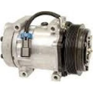 AC Compressor Fits Sanden 4891 4494 4757 Volvo Trucks (1 year Warranty) R58596
