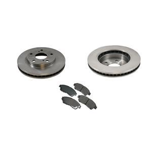 92-2001 Camry (2) 3291 Front Premium Rotor & CD562 Ceramic Brake Pads