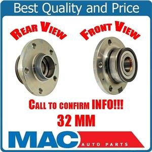 Wheel Bearing and Hub Assembly, Rear VW Golf 32MM Must Call & Ck Info