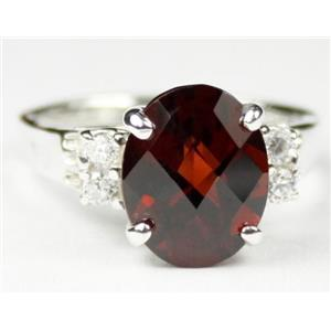 Mozambique Garnet, 925 Sterling Silver Ring, SR123