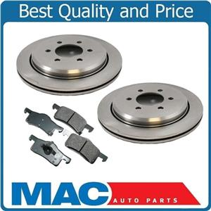 Rear Brake Rotors & Ceramic Pads for 2003-2006 Lincoln Navigator Ford Expedition