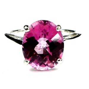 Pure Pink Topaz, 925 Sterling Silver Ring, SR055