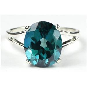 Paraiba Topaz, 925 Sterling Silver Ladies Ring, SR132