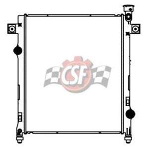 CSF 3419 Radiator - 1 Row Plastic Tank Aluminum Core For 07-2011 Nitro