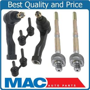02-05 6PC suspension kit Sway Bar tie rod assembly Sedona FWD