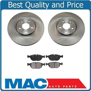 Front Brake Rotors & Ceramic Brake Pads 04-05 for Mercedes-Benz E500 4MATIC ONLY