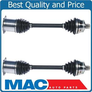 CV Drive Axle Shaft Assembly Front Left Right Pair Set 2002-2004 Audi A6 FWD