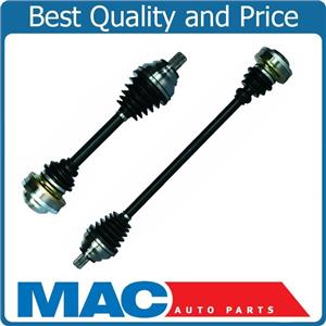 CV Drive Axle Shaft Assembly Front Left Right Pair 07-13 VW EOS 2.0L Manual