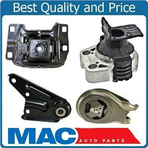 Engine Motor & Transmission Mount Kit 4pc Set for 2004-2009 Mazda 3 2.0L / 2.3L