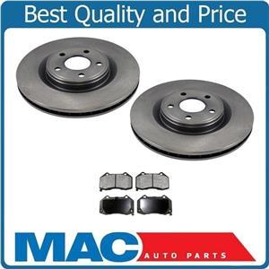 (2) 55180  5 Lug 12 3/8 Inch Rotots With CD1379 Ceramic Pads Call Check Info