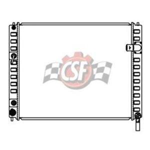 CSF 3403 Radiator - 1 Row Plastic Tank Aluminum Core for EX35 FX35 FX50