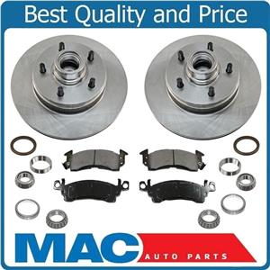 Front Brake Rotor Pads Bearings for Chevrolet Astro Van 85-89 Rear Wheel Drive