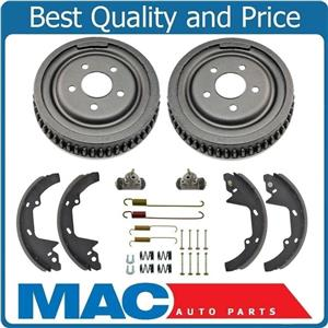 For 86 to 03/14/92 Taurus Wagon Brake Drums & Shoes W/C Springs