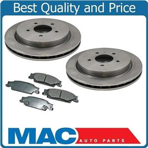 for 03-07 Cadillac CTS FE1 Rear Brake Rotors & Brake Ceramic Pads