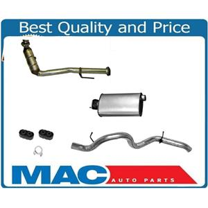 Catalytic Converter Exhaust Pipe Fits 05-06 Wrangler 2.4L With Muffler Tail Pipe