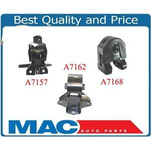 3 Piece Motor Mount Kit Fits Sonata 2.4L Auto/Manual Transmission