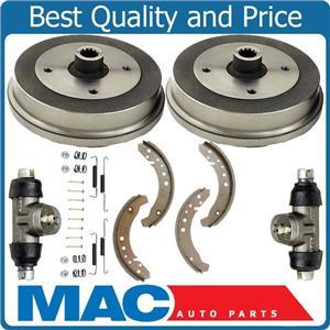 100% New Rear Brake Drums Wheel Cylinder Hardware for Volkswagen Beetle 68-78