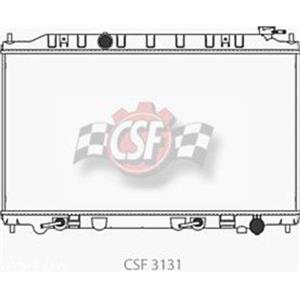 Radiator-1 Row Plastic Tank Aluminum Core CSF 3131 Call Check Fitment Info