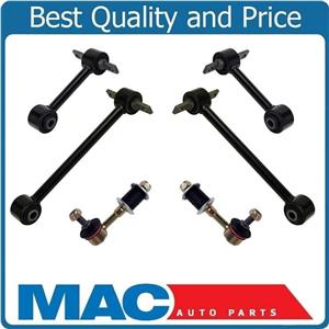 Fits 00-04 Volvo V40 S40 Rear of Car Lateral Links & Sway Bar Links 6Pc