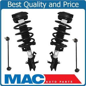 Front Quick Coil Spring Strut Struts Mount Sway Bar Link For 07-12 Nissan Sentra