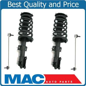 Front Quick Coil Spring Strut Struts Mount Sway Bar Links For 03-13 Volvo XC90