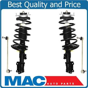 Front Coil Spring Struts Sway Links For Volvo 01-02 V70 XC / 03-07  XC70 4Pc