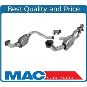 99-00 Range Rover 4.0L 01-02 Rover 4.6L Y Pipe & Catalytic Converter + Gaskets