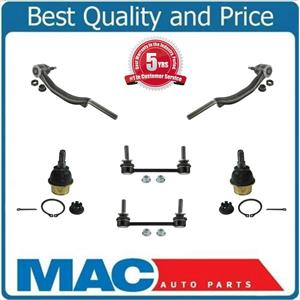 Set of Outer Tie Rods Sway Bar Links & Lower Ball Joints Fits Cadillac SRX 04-09