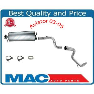Fits For Lincoln Aviator 4.6L 03-05 Muffler Exhaust Pipe System 2479 34906 44899