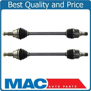 REAR CV DRIVE AXLE SHAFTS L & R REAR SIDE PAIR FOR 11-16 FORD EXPLORER