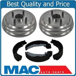 Fits For 04-06 Aveo W ABS (2) Brake Drums  Hubs Bearings Shoes 122.49004 B814