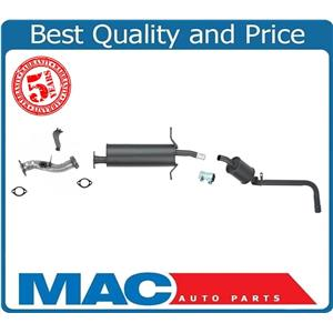 """Middle Muffler & Tail Pipe for Nissan Pick Up 4X4 2.4L with 104"""" WB 1996-1997"""