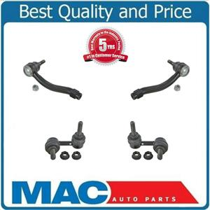 4 Pcs Chassis Kit FIts M45 06-10 M35 06-08 Front Outer Ends & Sway Bar Links
